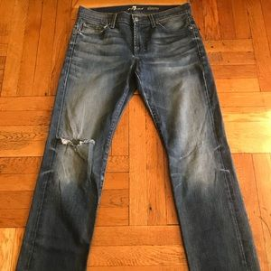 7 for All Mankind Jeans Skinny 33
